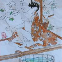 japonaise au bain