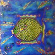 Poisson d'or - 25x25