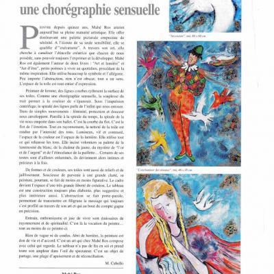 Article Valeurs de l'Art n°66