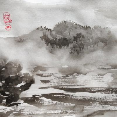 Sumi-e Paysages