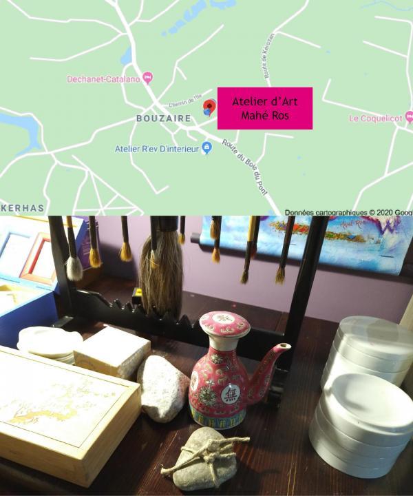 Carte 5A route de kerozan
