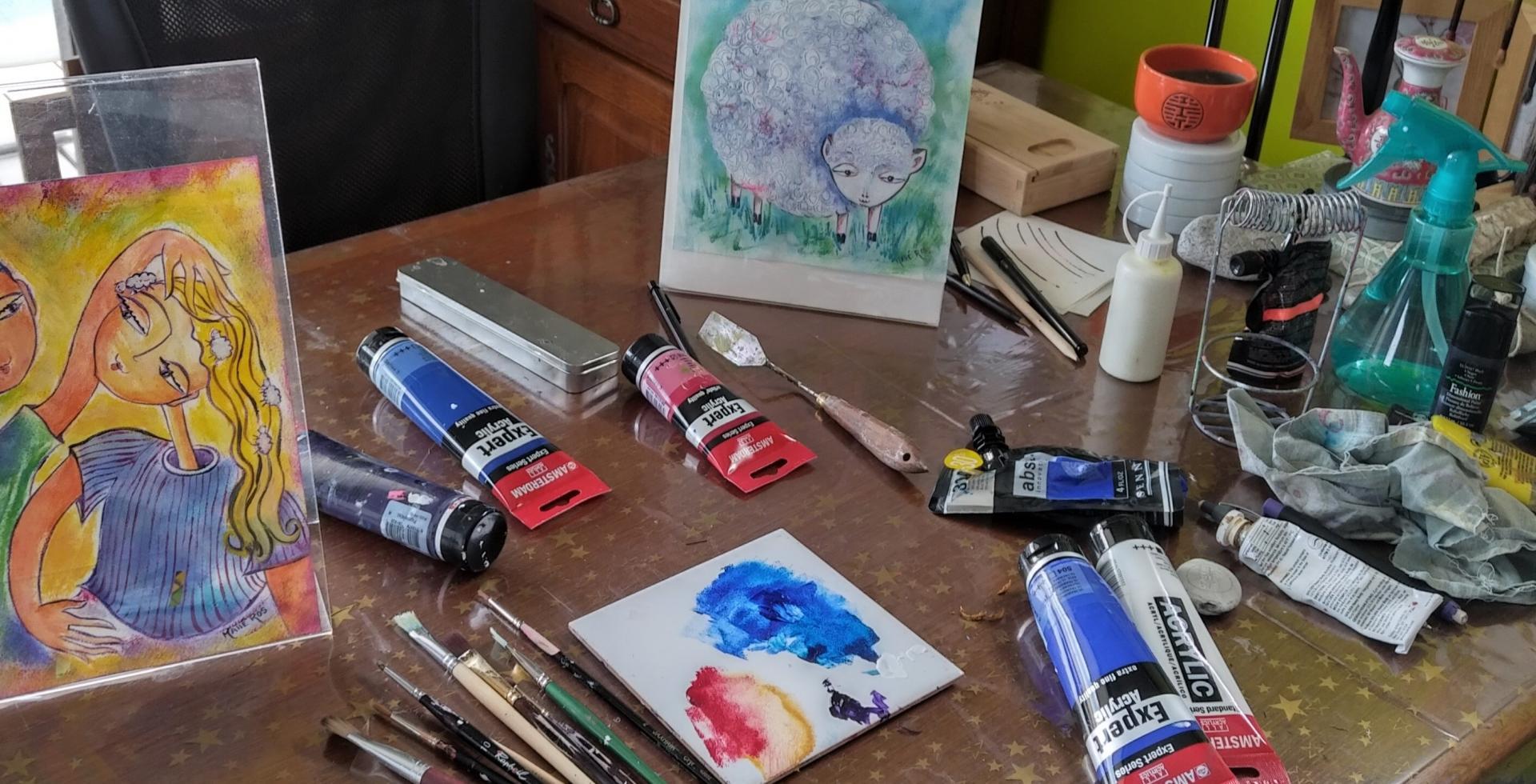 Cours et stages de dessin-peinture