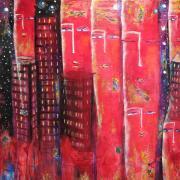 Flamboyance - 60x60