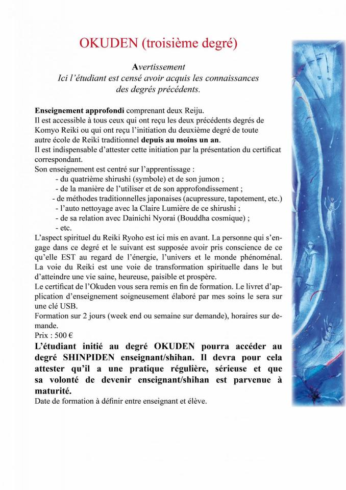 Les formations reiki 3 site